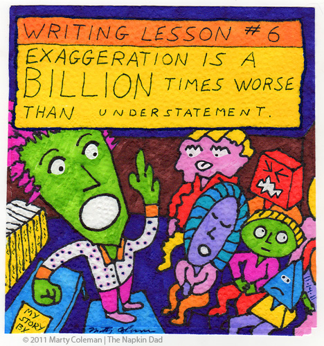 Lesson 6 Exaggeration