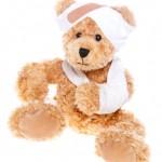 Teddy bear-broken arm