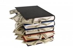Money in books