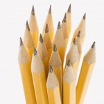 Sharp pencils