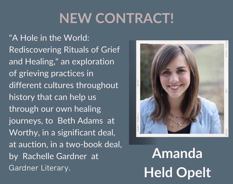 Gardner Literary is Proud to Represent Debut Author Amanda Held Opelt!
